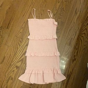 hello Molly pink dress